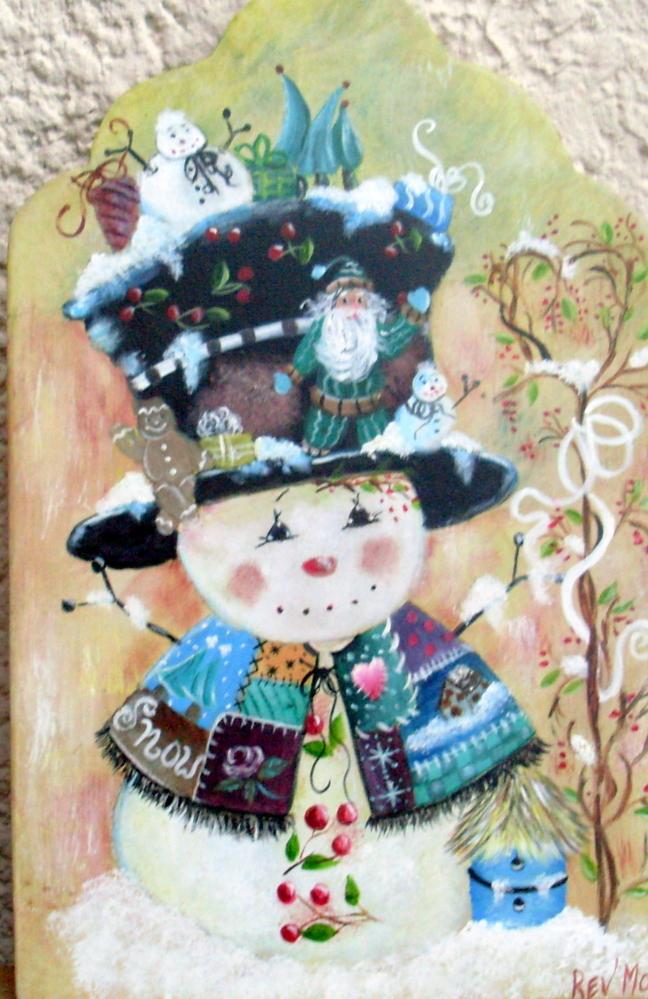 Noel - Modele bonhomme de neige ...